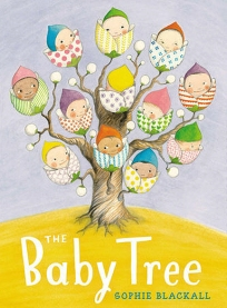 """The Baby Tree. By Sophie Blackall. Illus. by the author. Penguin/Nancy Paulsen. Where do babies come from? This question is delicately handled in Blackall's gentle and charming book. After asking around with amusing results, a boy finally learns the true facts from his parents. With a page of tips for """"the conversation."""""""